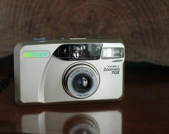 Yashica Kyocera Zoomate 70z 35mm camera working