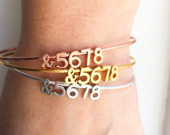 Dance Bracelet - Personalized Bracelet &5678 Dance Teacher Gift Bracelet Personalized Bangle Bracelet Personalized Dainty Bracelet
