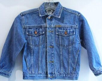 Gasoline Kids Vintage Denim Jacket