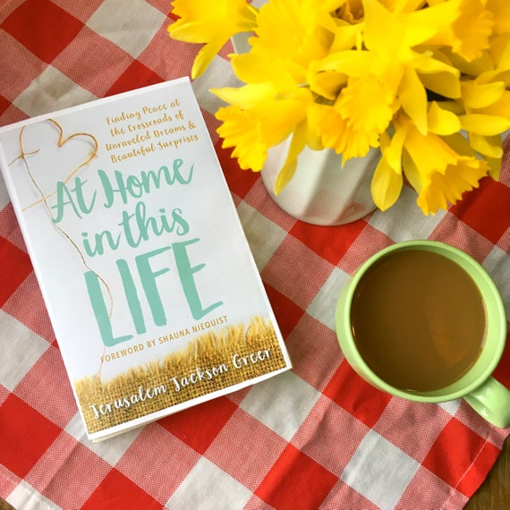 At Home in This Life book - Autographed Copy