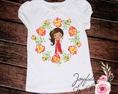 Elena of Avalor Tee - Elena of Avalor Outfit - Birthday Onesie - Princess Shirt - Elena Shirt