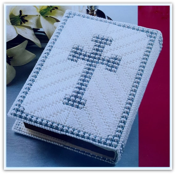 Plastic Book Cover Material : Plastic canvas bible cover pattern pdf