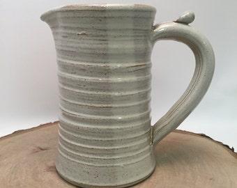 Handmade Ceramic Creamer / Pitcher - Ivory