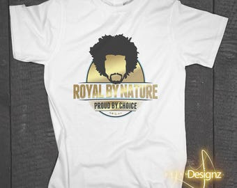 Royal by Nature Men's Graphic Tee