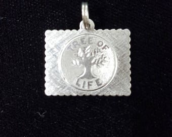 Tree of Life Charm, Silver Charm, Sterling silver pendant Jewelry, birthday gift, New baby