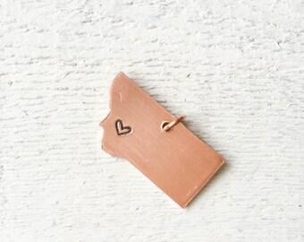 Montana Love Pendant Necklace