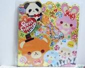 Q-LiA Sticker Flakes - Petit Friends - 71 Pieces (71211)