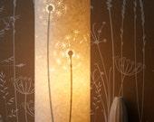 SECONDS SALE! Dandelion clocks lamp half price