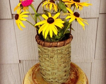 Country Flower Vase