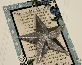 LDS Christmas, December Visiting Teaching Handout, Christmas Gift, The Meaning Of The Christmas Star, Stocking Stuffer, Relief Society