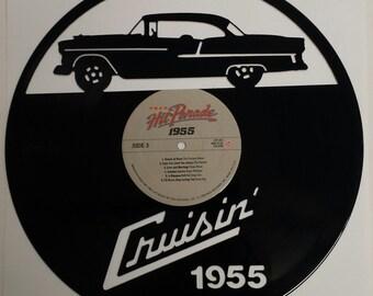 CRUSIN 1955 CHEVY Vinyl Art