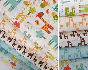 CLEARANCE Baby Bedding & Stokke Bedding // Giraffe // 100% Premium Percale Cotton // Choose your fabric //  Ready To Ship in just 1 week