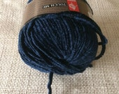 New Muench Touch Me Yarn 3627 Italian Navy Blue 5 Skeins Destashing