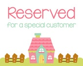 RESERVED LISTING For ginaharrison2