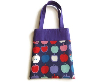 Small Fabric Gift/ Goodie Bag - Apples