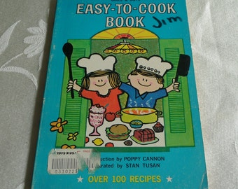 "Girls and Boys Easy-To-Cook Book"" By Anne Wainwright Paperback 1967"