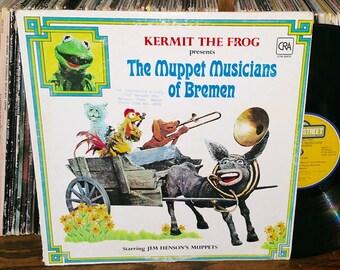 The Muppet Musicians Of Bremen Vintage Vinyl Record