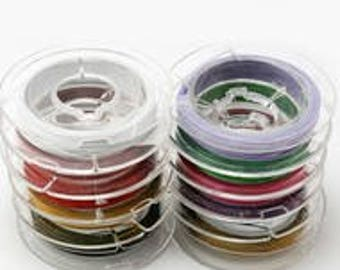 10 pack beading wire .38mm