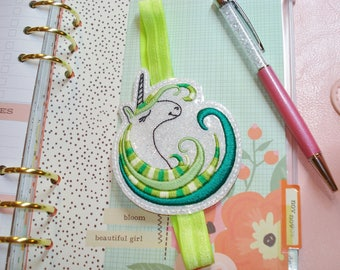 UNICORN PLANNER BAND Hand Crafted for your Classic Planner