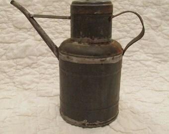 Vintage Oil Can Nice Detail SALE