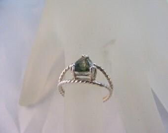 Sterling Silver Watermelon Quartz Ring