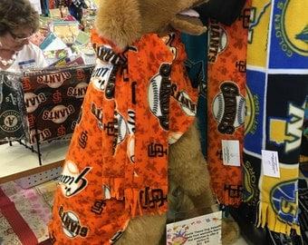 SF Giants Dog Coat