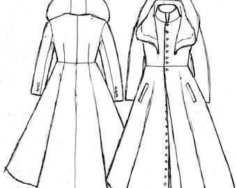 Custom Hooded Overcoat Deposit