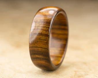 Size 10.25 - Tamboti Wood Ring No. 277