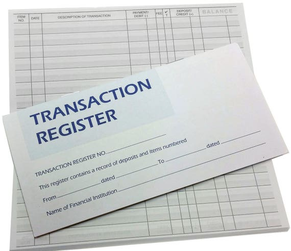 transaction registers