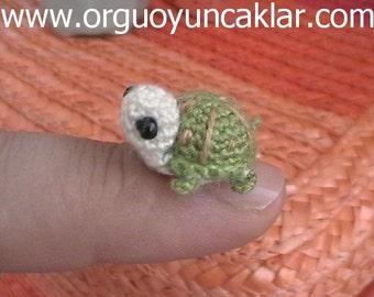 Crochet 0.4 inc Miniature Turtle