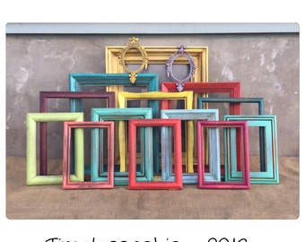 PICTURE FRAME - Picture Frame Set - Picture Frame Collection - Wood Picture Frame - Bohemian Decor - CHIC
