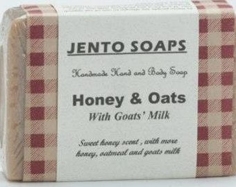 Honey and Oats Soap