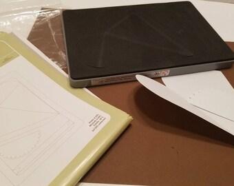 "Sizzix Big Shot Petal Cone - dimensions 6"" x 8 3/4"" By Shelli"