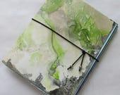 Collage Paper Junk journal Mini Notebook Wabi Sabi Purse Size Jotter smash scrap journal