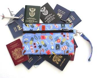 Family Passport Holder - Large Travel Wallet - Travel Organizer - Passport Cover - Passport Case - Passport wallet - Boarding Pass Wallet