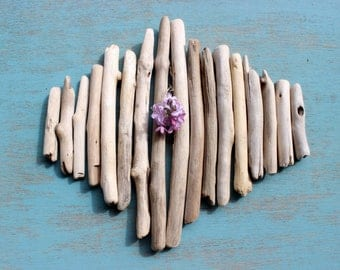 Create your own Driftwood Art ,  DIY Beach Decoration, Graduated Chubby Pieces GC17