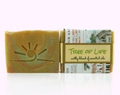 TREE of Life / All Natural Essential Oil Soap, Vegan, Eco Friendly / Cold Process Soap Bar / Organic Soap