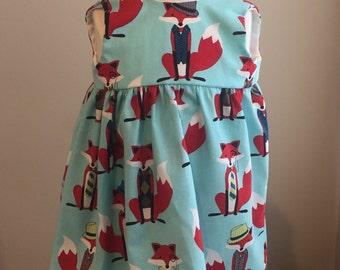 0-3 Months Fox Dress