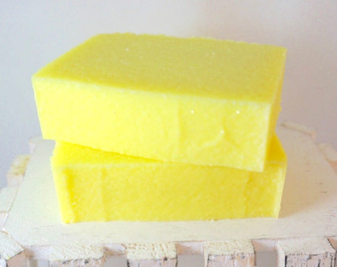 SUNSHINE SEA SALT Soap, Exclusive Bright Citrus Blend, Creamy Bar Loaded in Re-mineralizing Sea Salt, 5.5 oz