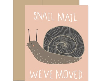 Snail Mail Card, Snail Greeting Cards, Snail Inspiration Cards, Inspiring Cards, Blank Snail Cards, Snail Thinking Of You Cards