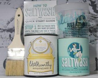 Saltwash®| Chalkworthy® paint kit |Yellow