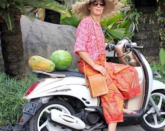 COTTON, Culottes, Batik Sarong,  Wide Leg, Loose Fit, Plus Size, Bohemian, Yoga Pants, Resort Wear, Island Style, Size 8-18