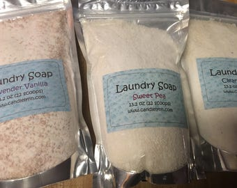 Laundry Soap - Clean Cotton scented - 26.4 oz
