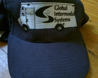 Global Intermodal Systems trucker cap baseball hat embroidered normcore