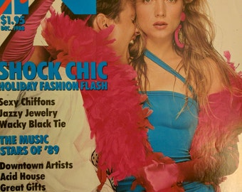 IN Fashion magazine 1980s fashion eighties new wave