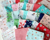 Riley Blake, Tasha Noel, Designer Fabric SCRAP PACK, 20 Pieces