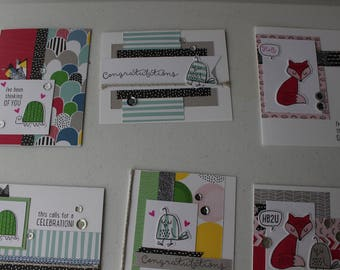 Some Kinda' Wonderful Pre-cut Card Making Kit