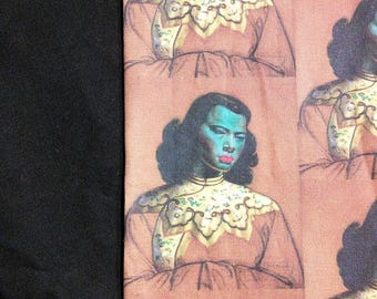 Tretchikoff Blue Lady Panel Shirt, Choose Your Size Men's Small up to 6 X