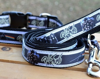 Pink Floyd band dog collar & or leash