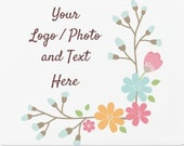"""12"""" x 18"""" Large Car Magnet Use Own LOGO or PHOTO Custom Personalized Quantities 1-40"""